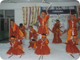Celebrating Navratra through Dandiya